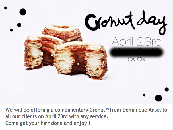 cronut salon
