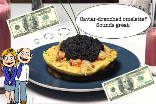caviar omelette parents